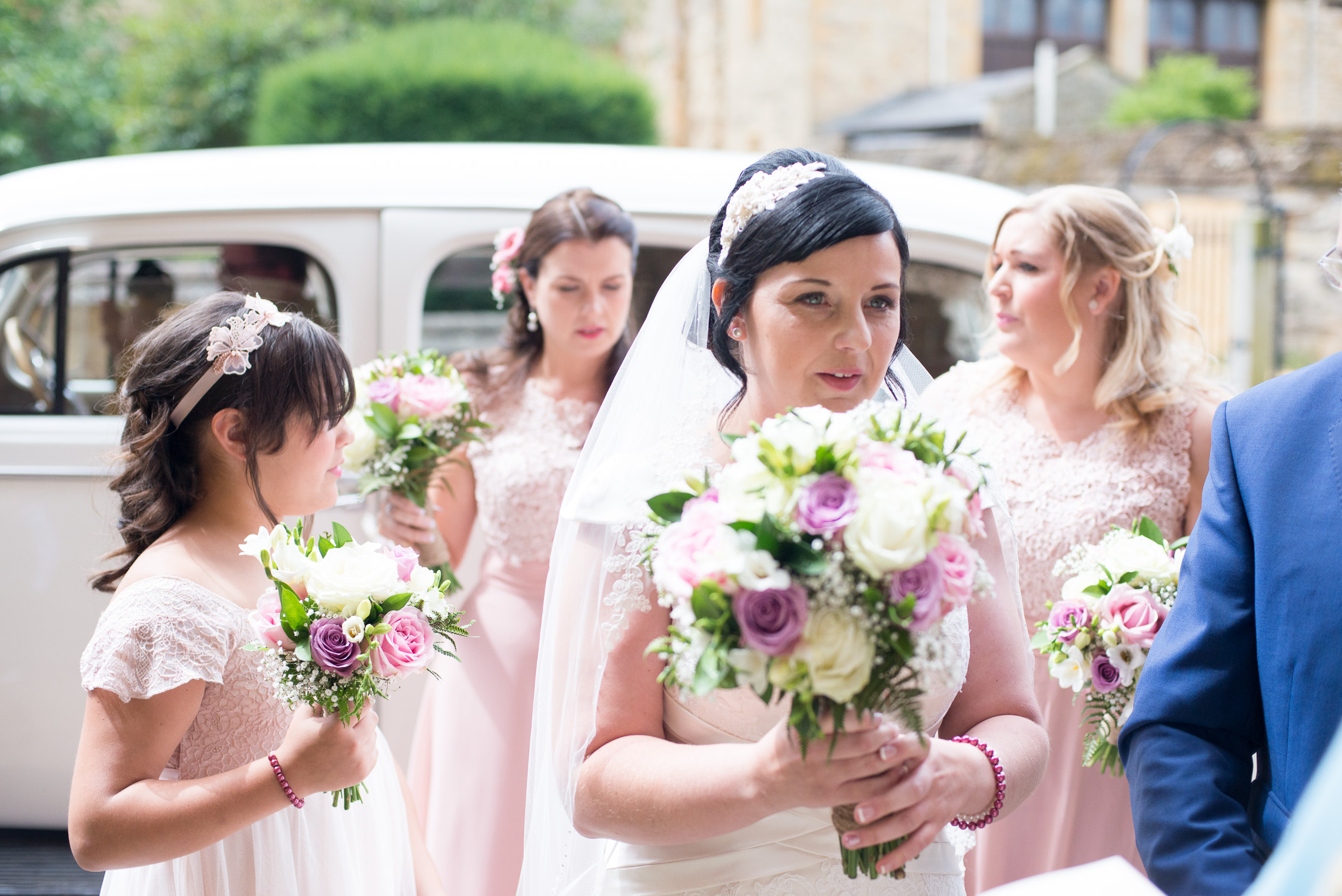 Vintage wedding Towcester Northamptonshire