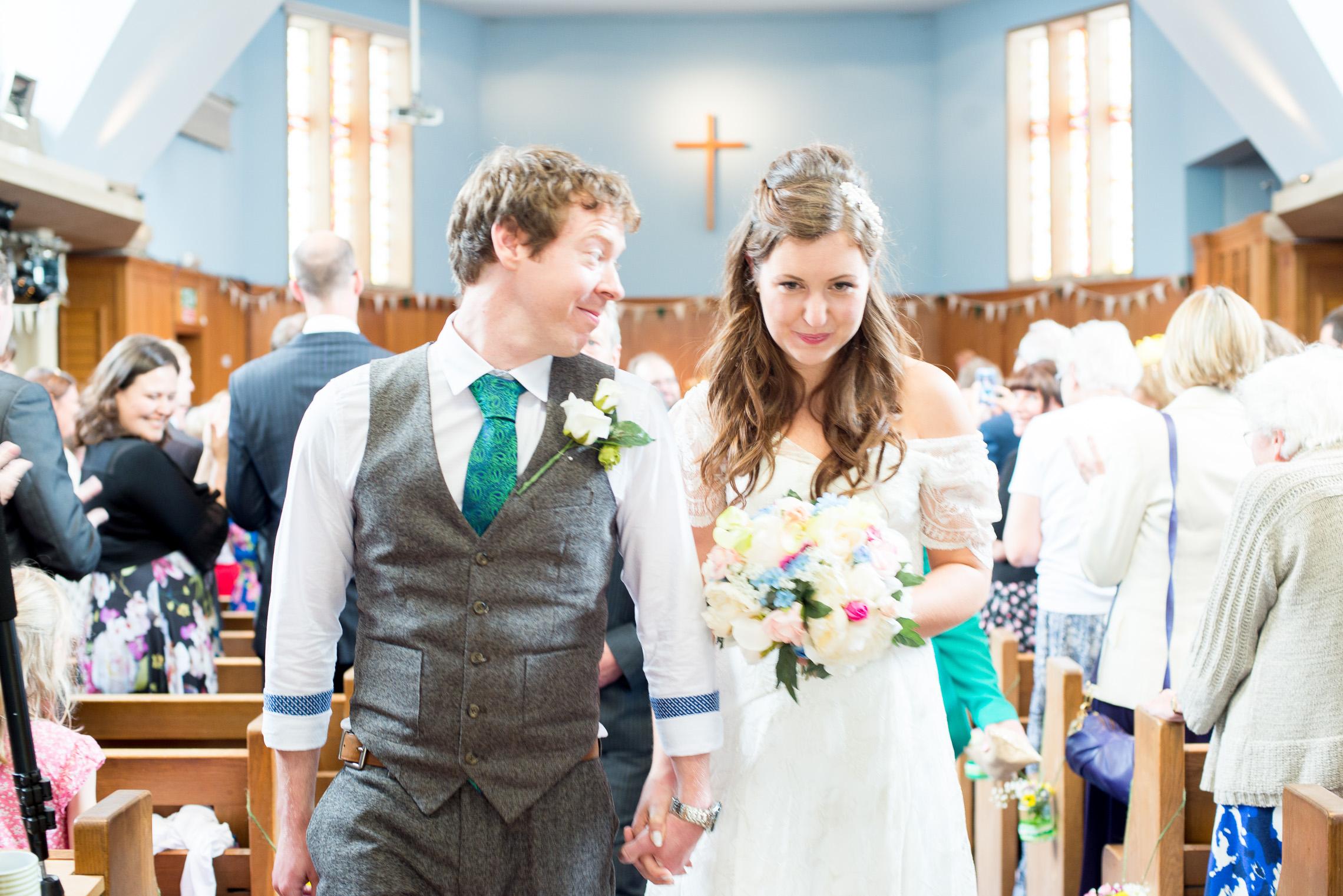 Woodland wedding Leicestershire