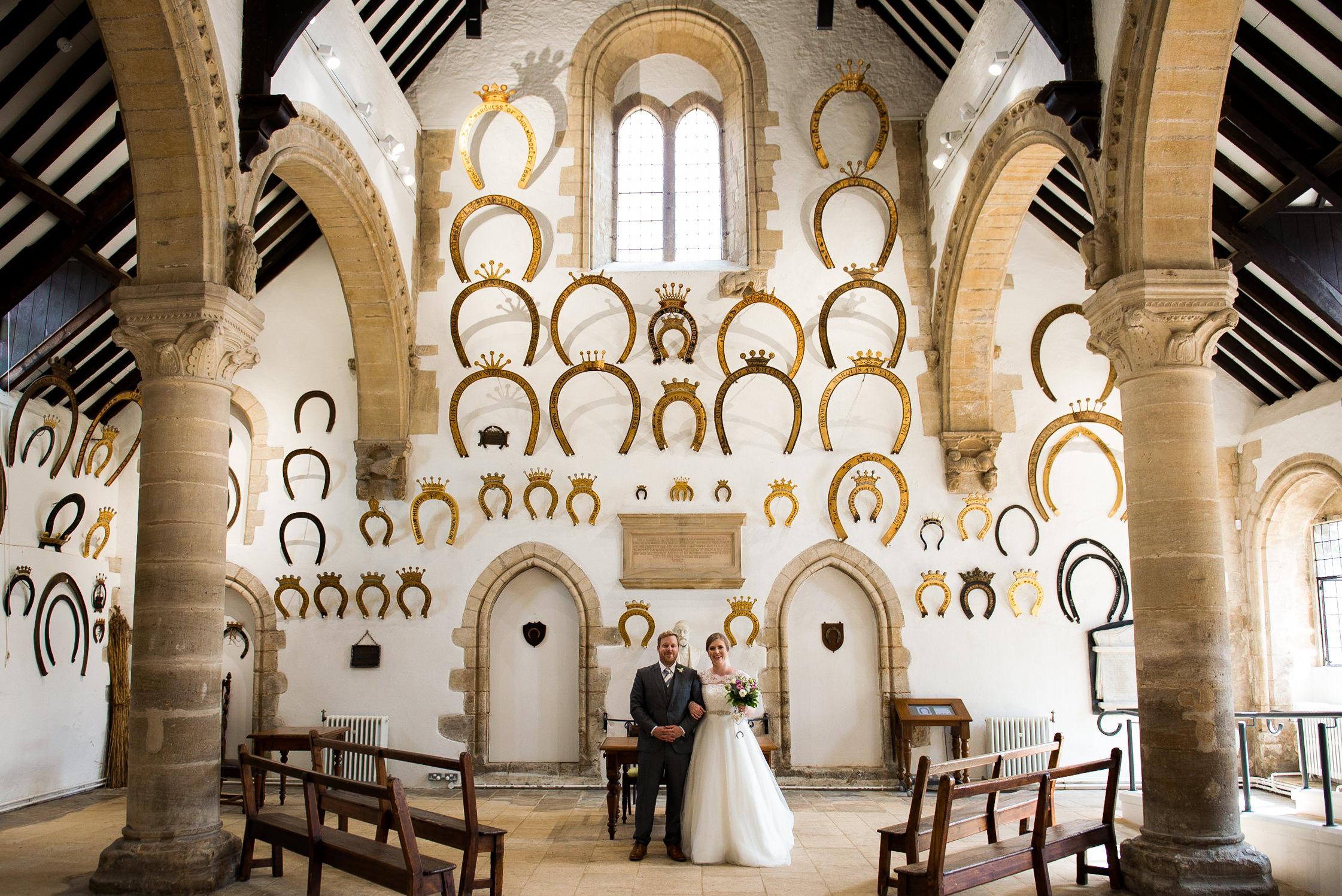 Oakham Castle wedding