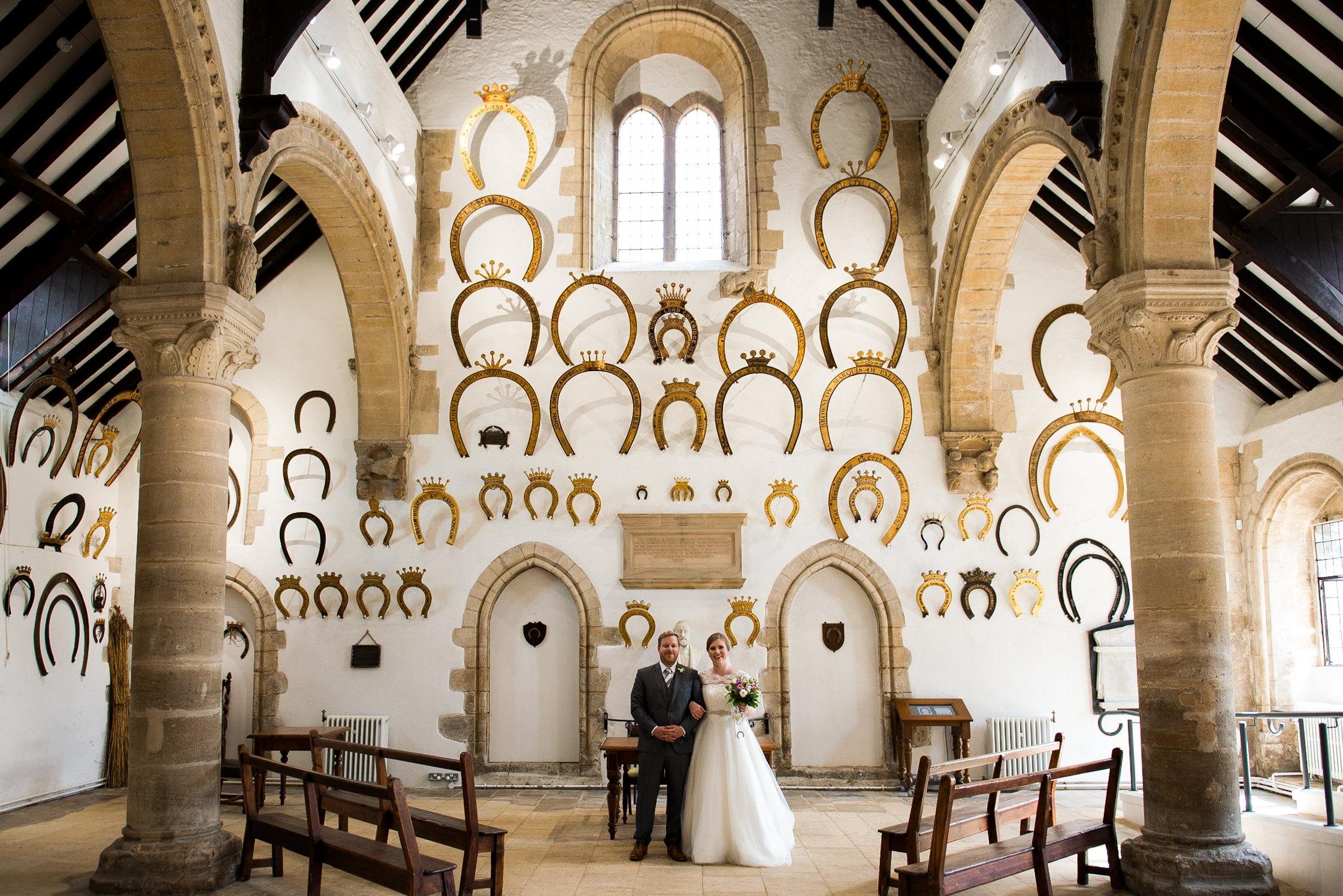 Oakham Castle wedding