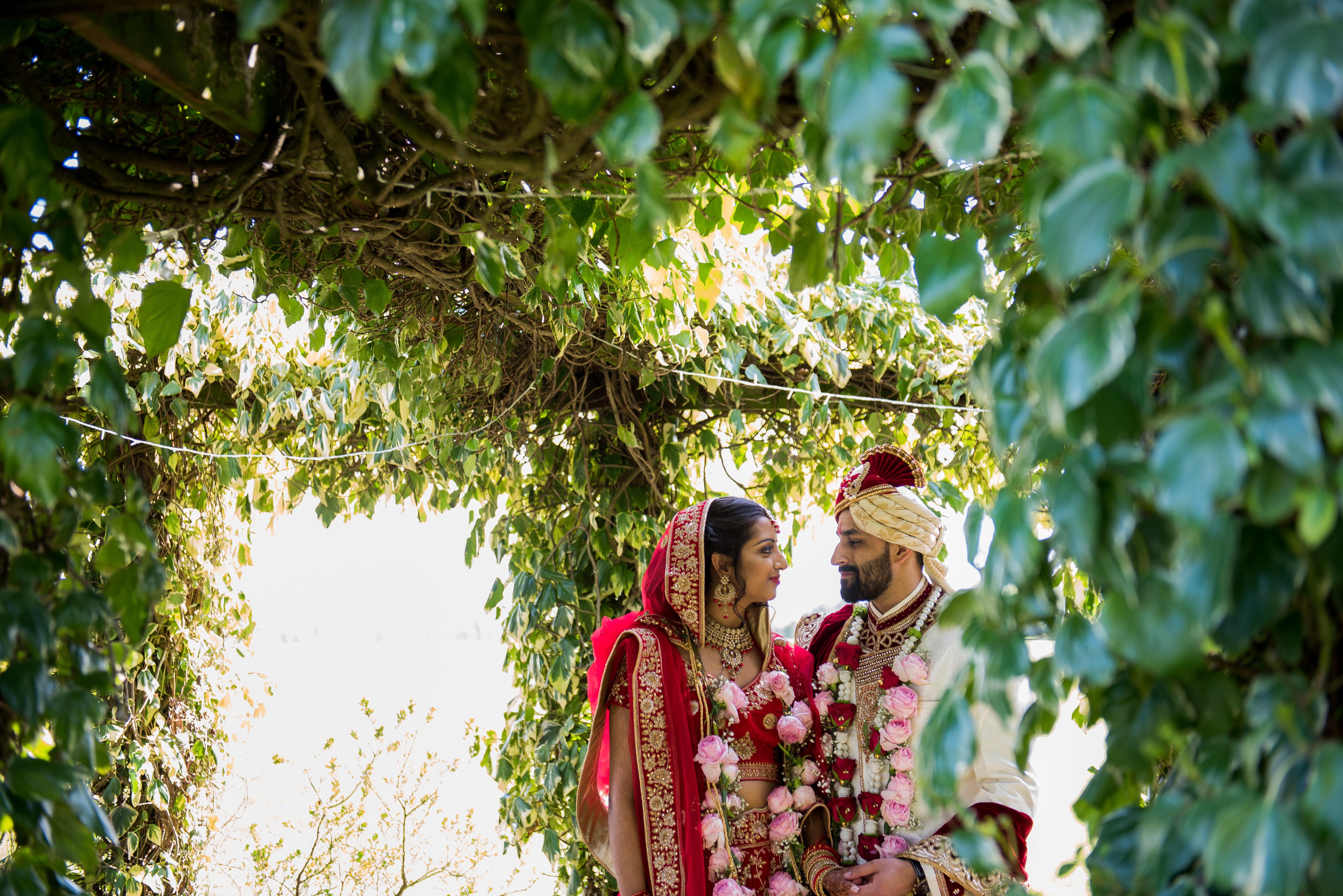 Asian wedding at Whittlebury Park