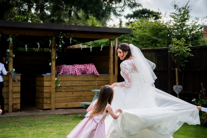 Garden Wedding at the Oathill, Market Harborough